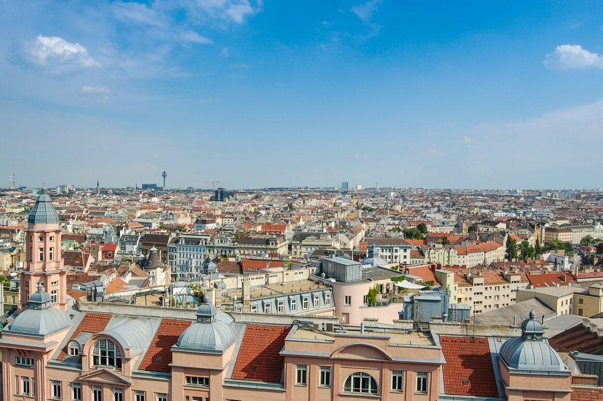 In Wenen, Oostenrijk wonen